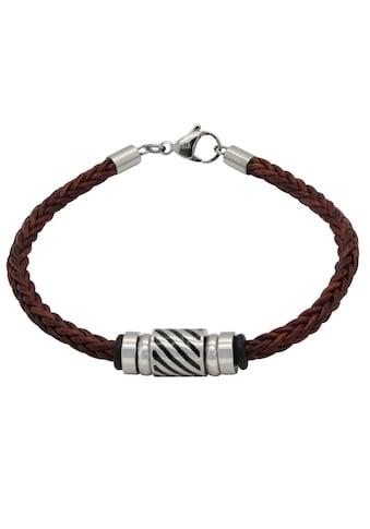 Firetti Armband »Geflochten, 4,4 mm breit, Glanz, massiv«, Made in Germany kaufen