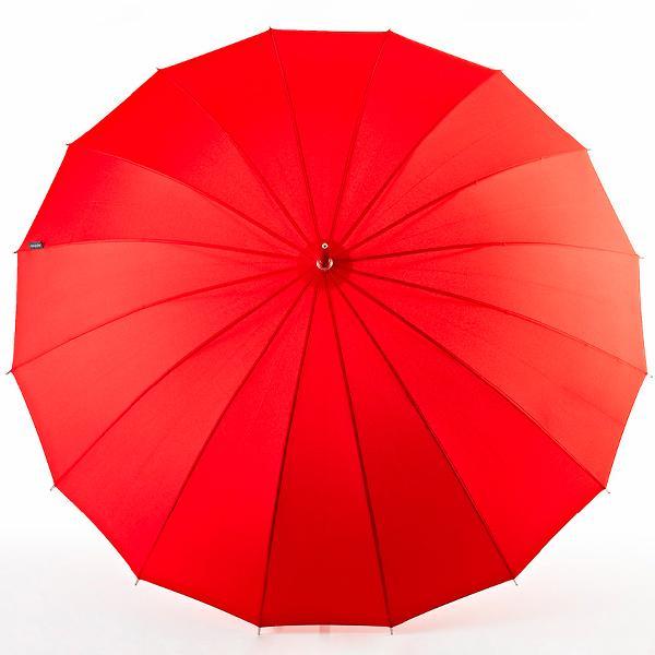 Euroschirm® Regenschirm, »Stockschirm Metropolitan®, rot« | Accessoires > Regenschirme > Stockschirme | Rot | Polyester - Metall | EUROSCHIRM®