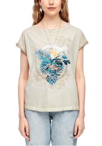 Q/S by s.Oliver T-Shirt, mit Front-Motiv kaufen