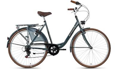 KS Cycling Cityrad »SiX«, 6 Gang Shimano Tourney Schaltwerk, Kettenschaltung kaufen