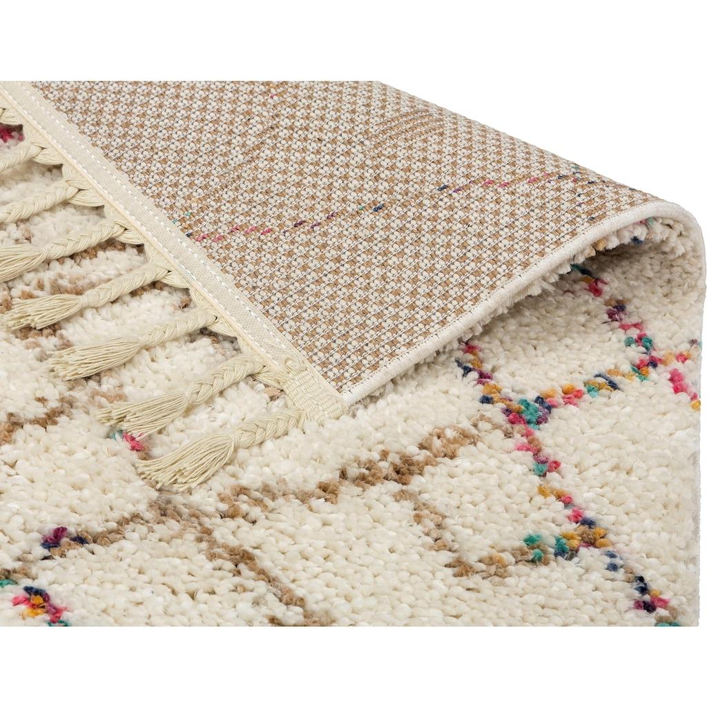 SCHÖNER WOHNEN-Kollektion Hochflor-Teppich »Urban 184«, rechteckig, 30 mm Höhe, Besonders weich durch Microfaser