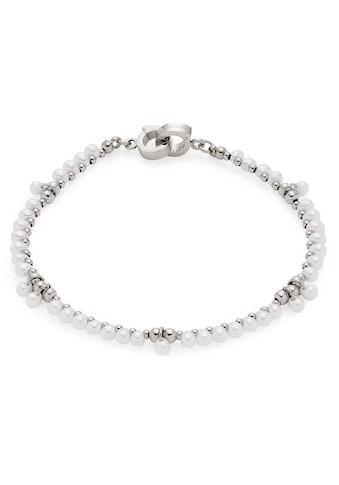 LEONARDO Edelstahlarmband »Jasmina Darlin's, 017884«, mit Glasperlen kaufen
