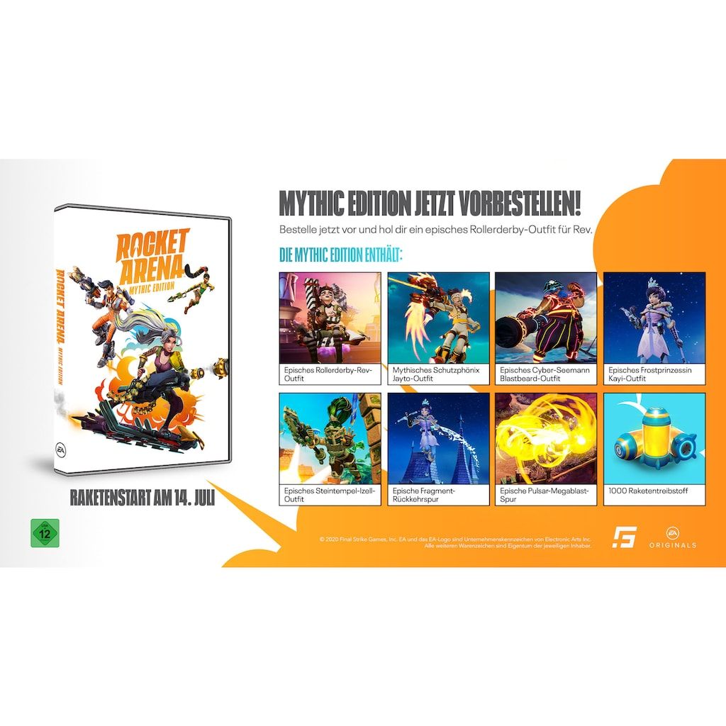 Electronic Arts Spiel »Rocket Arena - Mythic Edition«, PC