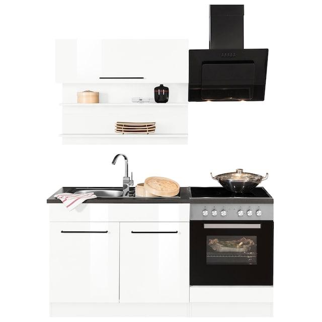 HELD MÖBEL Küchenzeile »Tulsa«, ohne E-Geräte, Breite 160 cm