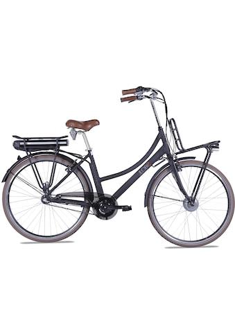 LLobe E-Bike »Rosendaal Lady 13,2 Ah«, 3 Gang, Frontmotor 250 W, Gepäckträger vorne kaufen