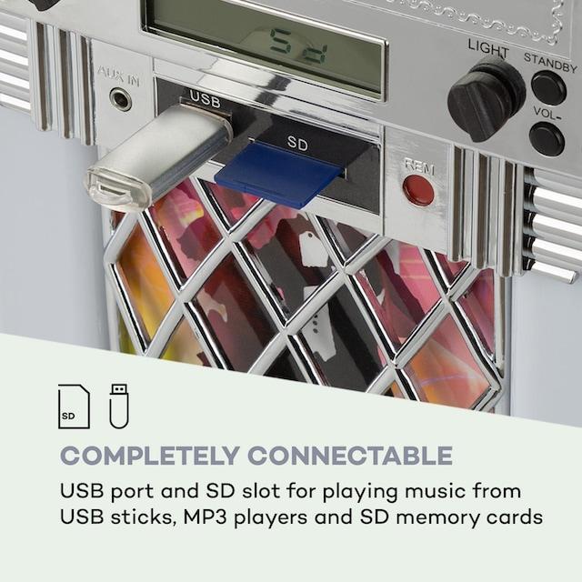 Auna Jukebox, BT, UKW-Radio, USB, SD, MP3, CD-Player, »BX-Kentucky«