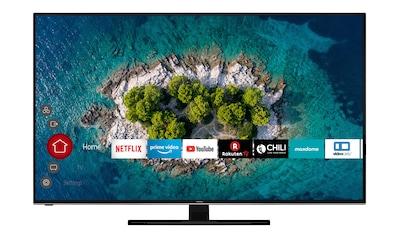 Hitachi LED - Fernseher (65 Zoll, 4K Ultra HD, Smart TV, Triple Tuner) »U65L7100« kaufen