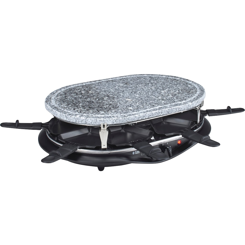 RUSSELL HOBBS Raclette »21000-56 Fiesta Multi Raclette«, 6 St. Raclettepfännchen, 1200 W