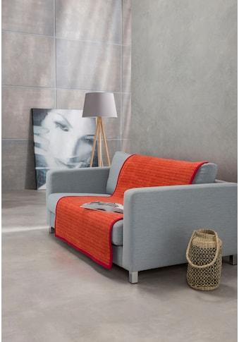 IBENA Sofaschoner »Fano«, mit modernen Streifen kaufen