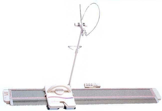 SILVER REED Strickmaschine LK 150 | Flur & Diele > Haushaltsgeräte > Strick und Nähmaschinen | Weiß | SILVER REED