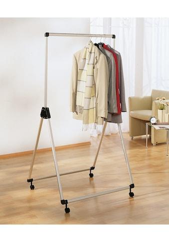 Ruco Kleiderständer, Aluminium/Kunststoff, höhenverstellbar, fahrbar kaufen