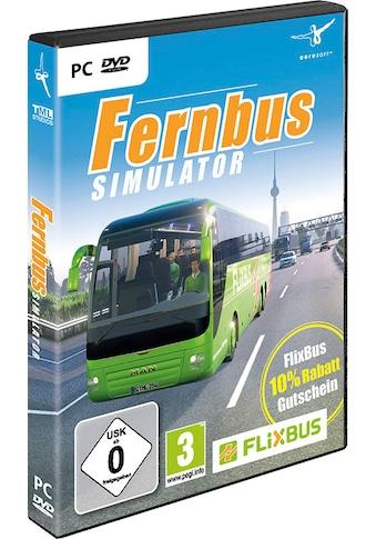 Der Fernbus Simulator PC kaufen