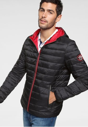 TOM TAILOR Polo Team Steppjacke, mit Kapuze kaufen