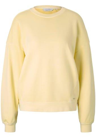TOM TAILOR Denim Sweatshirt, mit Rundhalsausschnitt im Oversize-Look kaufen