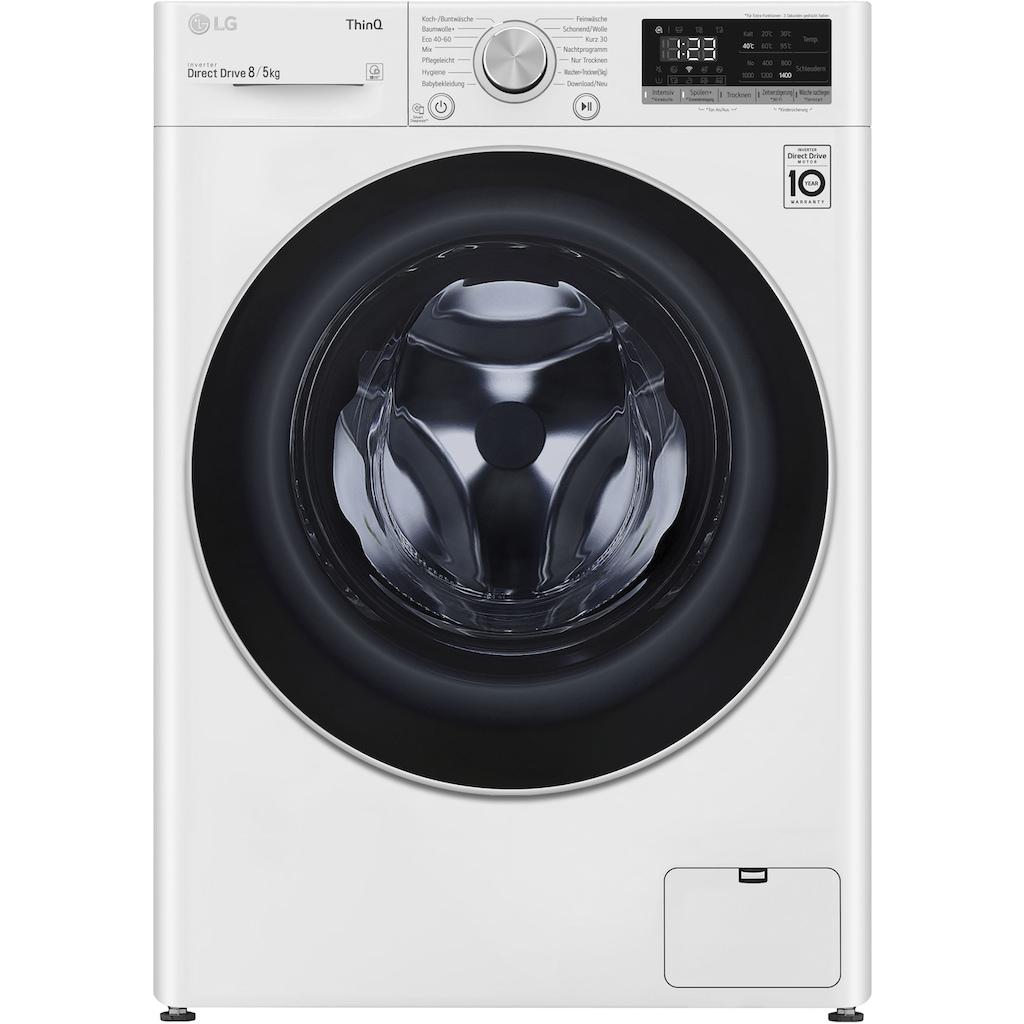 LG Waschtrockner »F14WD85TN«, 52 dB