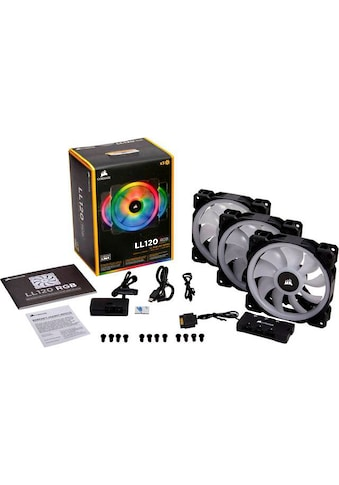 Corsair »LL120 RGB LED Fan Triple Pack with Lighting Node PRO« Gehäuselüfter kaufen