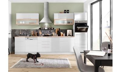 HELD MÖBEL Küchenzeile »Wien«, mit E-Geräten, Breite 350 cm kaufen