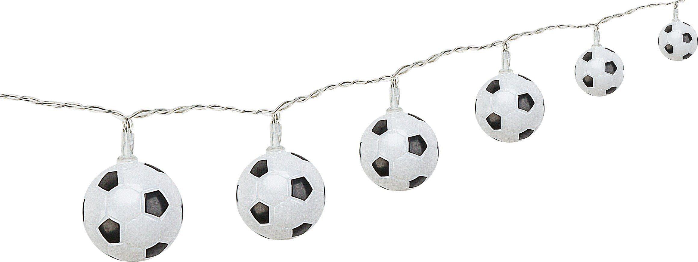 Goobay LED Lichterkette Fußball, inkl. Netzstecker günstig online kaufen