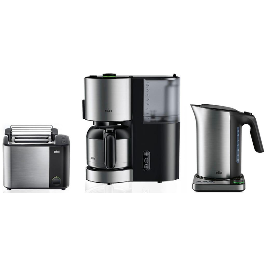 Braun Filterkaffeemaschine »ID Collection Kaffeemaschine KF 5105 BK schwarz«