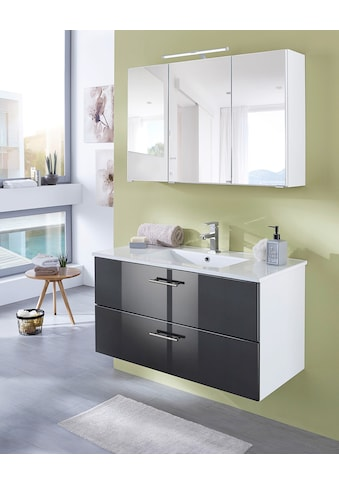 WELLTIME Waschplatz - Set »Trento«, Waschtisch, Breite 100 cm, 2tlg. kaufen