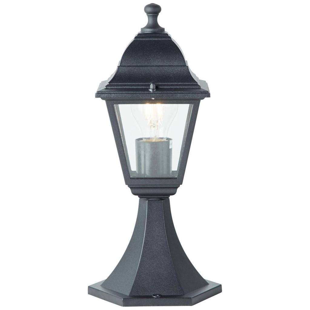 Brilliant Leuchten Außen-Wandleuchte, E27, Nissie Außensockelleuchte 37cm schwarz