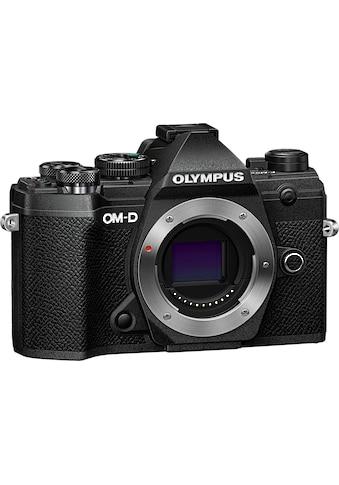 Olympus Systemkamera »OM-D E-M5 Mark III Body«, 20,4 MP, Bluetooth-WLAN (Wi-Fi) kaufen