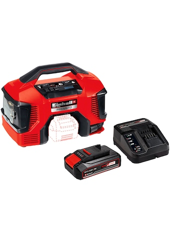 EINHELL Set: Kompressor »PRESSITO«, Power X - Change, 2,5 Ah, inkl. Akku, Ladeg., Absaug - Adapter kaufen