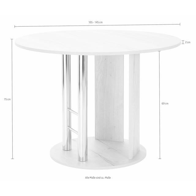 Säulen-Esstisch »Rondell«