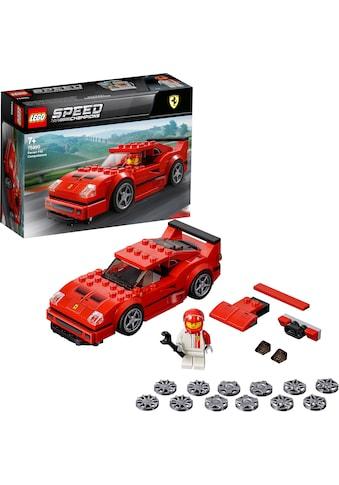 LEGO® Konstruktionsspielsteine »Ferrari F40 Competizione (75890), LEGO® Speed Champions«, Made in Europe kaufen