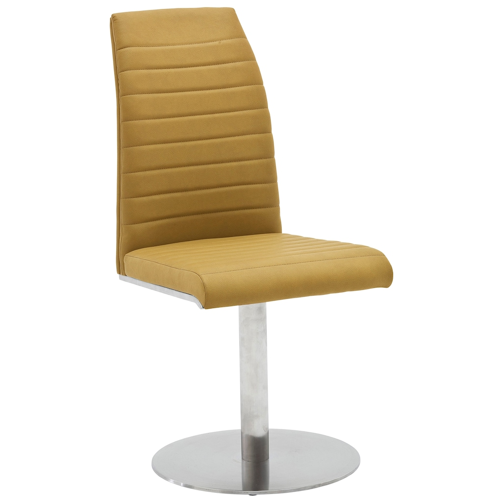MCA furniture Drehstuhl »Flores A Tellerfuß«, 2er-Set Stuhl drehbar 360° max. 130 Kg belastbar