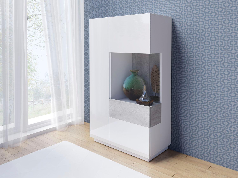 Vitrine »SILKE«, Höhe 138, 5 cm | Wohnzimmer > Vitrinen > Standvitrinen | QUELLE