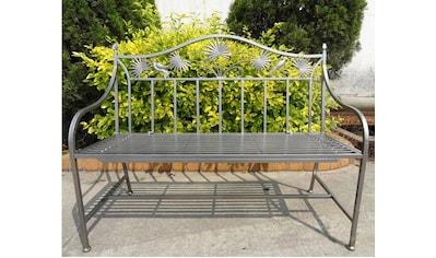 Gartenbank »Sofie«, Stahl, 111x52x84 cm, silberfarben kaufen