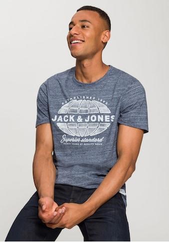 Jack & Jones T - Shirt »30 GRAPHIC MELANGE TEE« kaufen