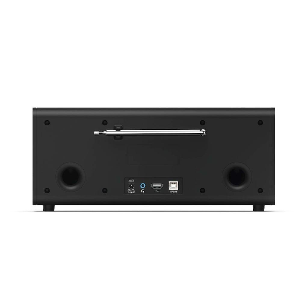 Hama DAB Digitalradio mit CD-Laufwerk, FM/Bluetooth/USB/Stereo »DR1550CBT«