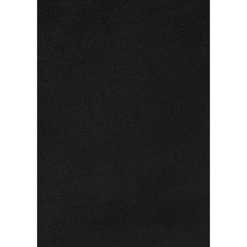 Bench. Sweathose, mit großem Logo-Druck und Nahttaschen