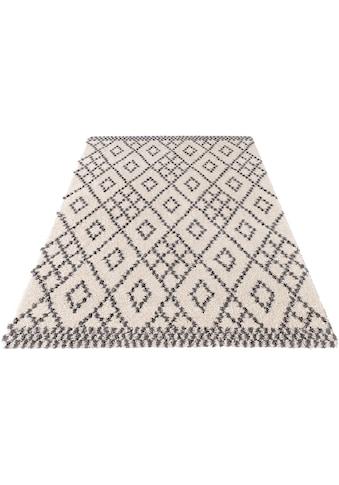 Hochflor - Teppich, »Chess«, MINT RUGS, rechteckig, Höhe 35 mm, maschinell gewebt kaufen