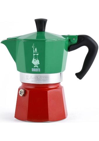 BIALETTI Espressokocher »Moka Express Tricolore Italia«, 3 Tassen kaufen