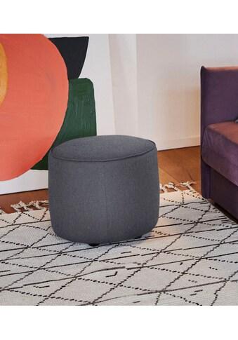 TOM TAILOR Pouf »DROP CHIC«, mit Kedernaht, ø 50 cm kaufen
