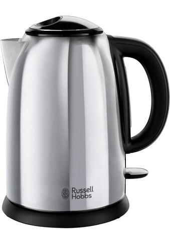 RUSSELL HOBBS Wasserkocher »Victory 23930-70«, 1,7 l, 2400 W, Edelastahl poliert kaufen