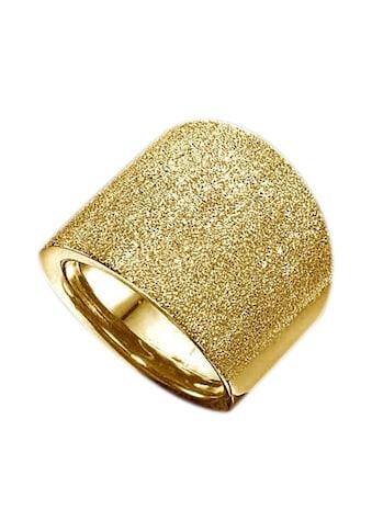 Firetti Goldring »im Verlauf, mit Brillantstruktur« kaufen