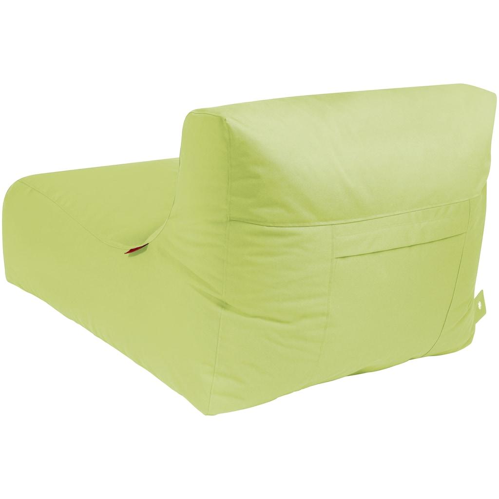 OUTBAG Sitzsack »Newlounge PLUS«, wetterfest, für den Außenbereich, BxT: 90x120 cm