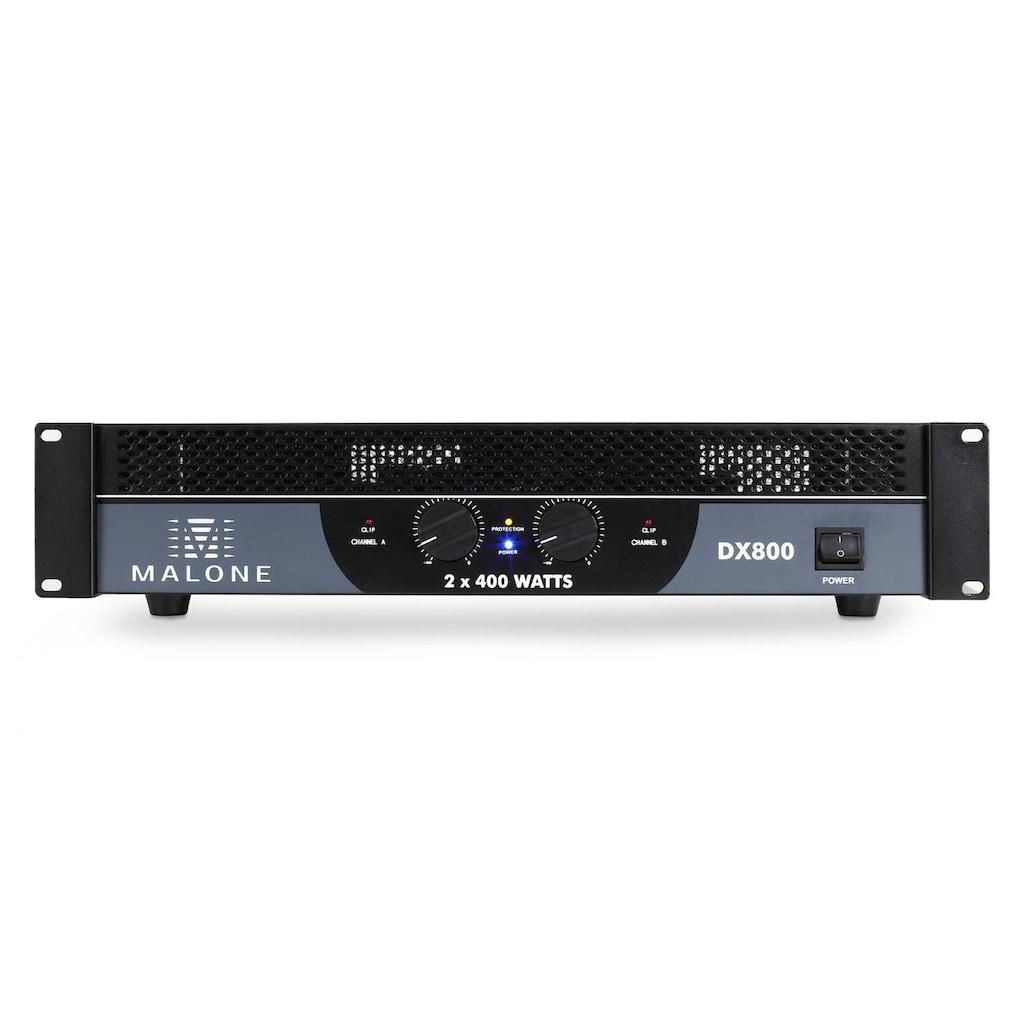 Malone PA Endstufe Verstärker 800W brückbar »MG3 DX800«