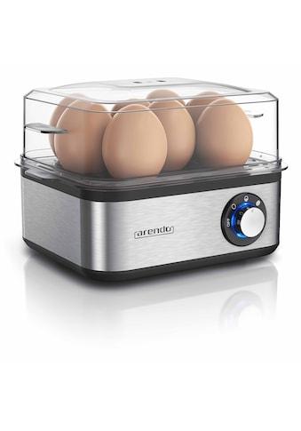 Arendo Edelstahl Eierkocher für bis zu 8 Eier »EIGHTCOOK Silber« kaufen