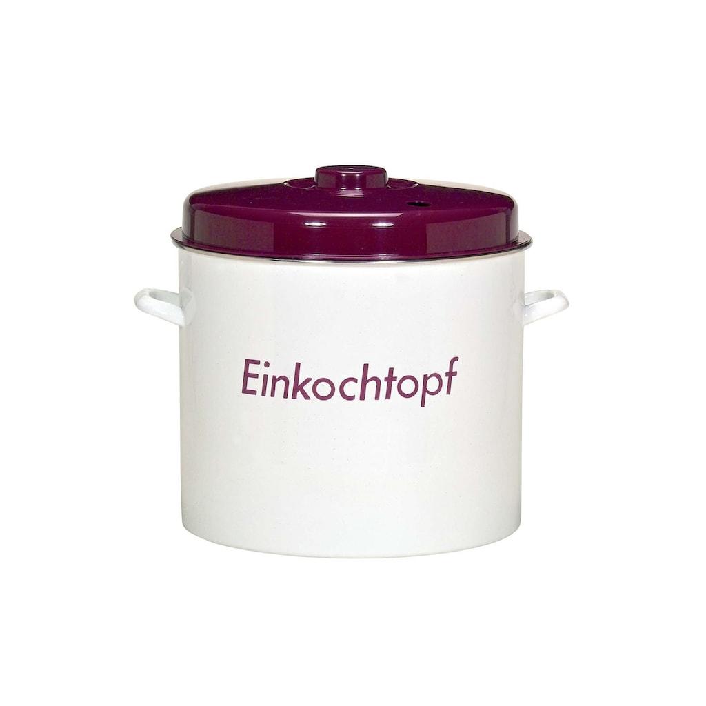 Krüger Einkochtopf, Emaille, (1 tlg.), Induktion