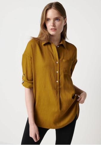 someday Hemdbluse »Zericela«, in leichter Crashoptik kaufen