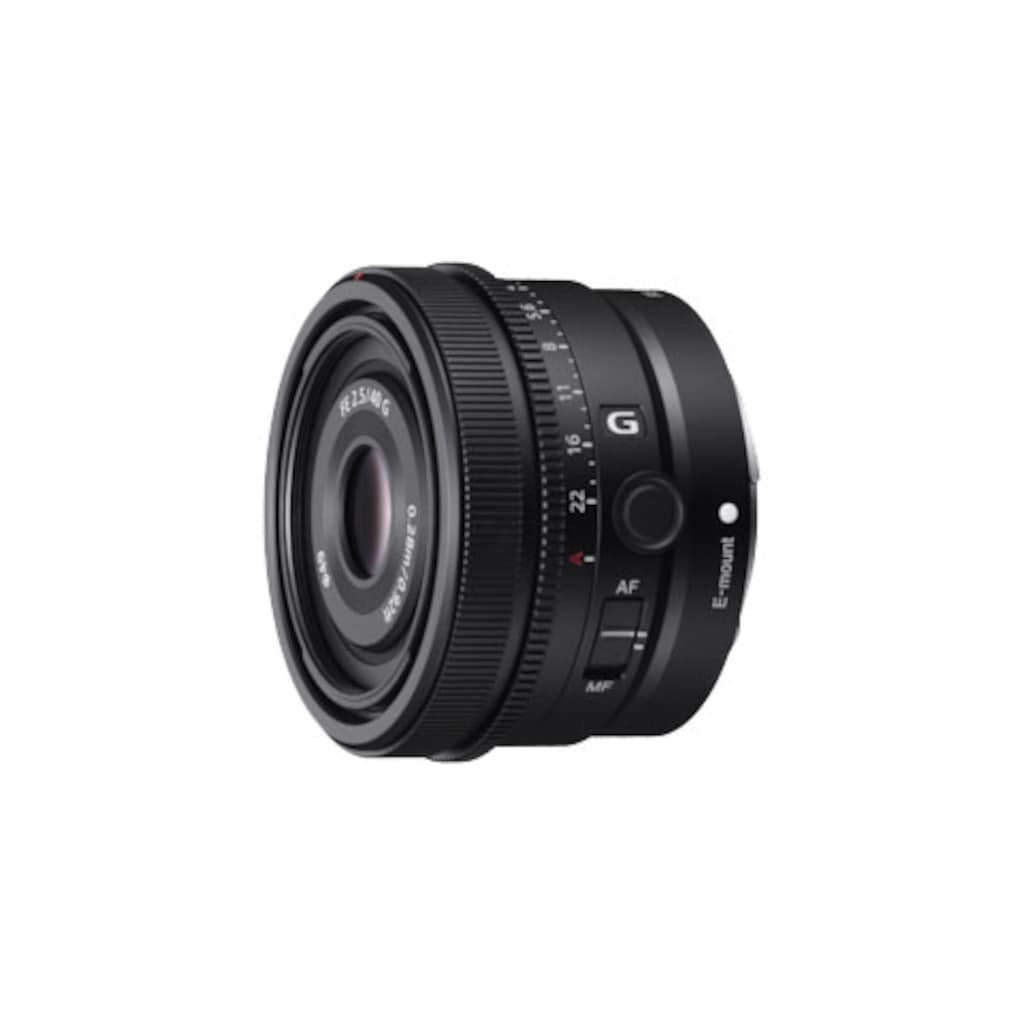 Sony Weitwinkelobjektiv »SEL40F25G.SYX«