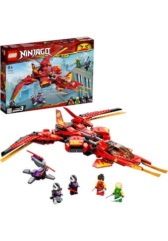 "LEGO® Konstruktionsspielsteine ""Kais Super - Jet (71704), LEGO® NINJAGO®"", Kunststoff, (513 - tlg.) kaufen"
