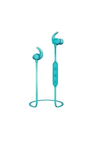 Thomson WEAR7208TQ Bluetooth® - Kopfhörer, In - Ear, Mikrofon, Ear - Hook »Türkis« kaufen
