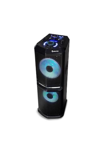 "Auna Party - Audiosystem / 120 W max. / 2 x 10"" Woofer »Clubmaster 8000« kaufen"
