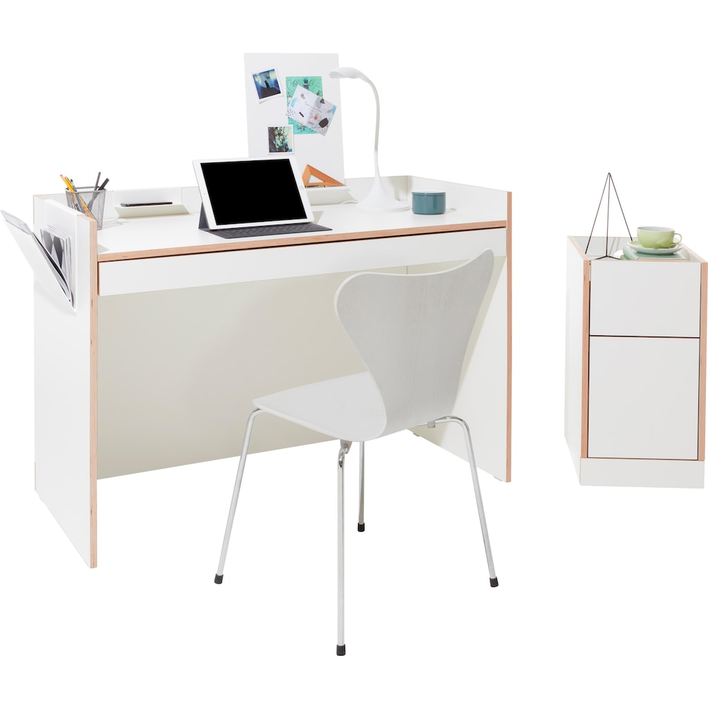 """Müller SMALL LIVING Magnettafel """"FLAI Add-On Magnetboard mit Ablage"""""""